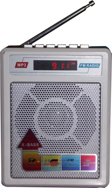 Sonilex S-414-White MP3 Player(White, 1 Display)
