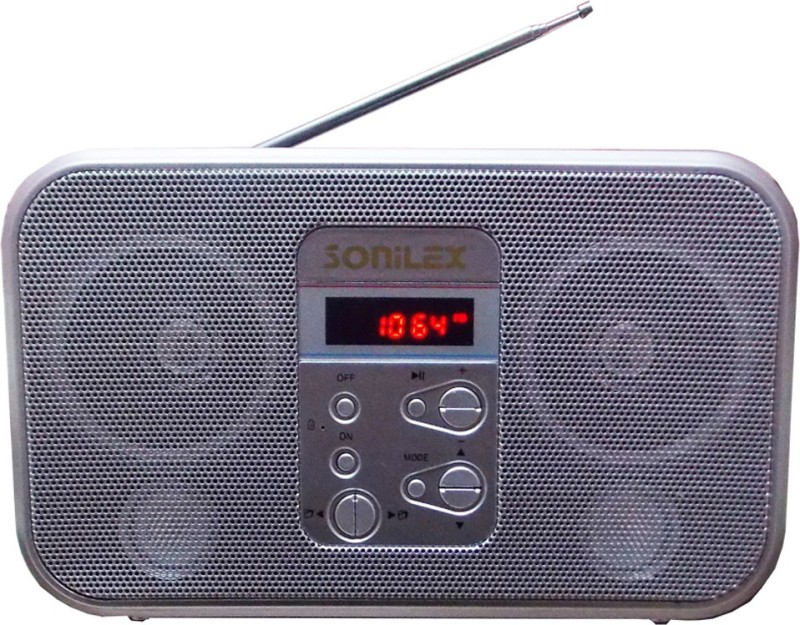 Sonilex S-360-Silver MP3 Player(Silver, 1 Display)