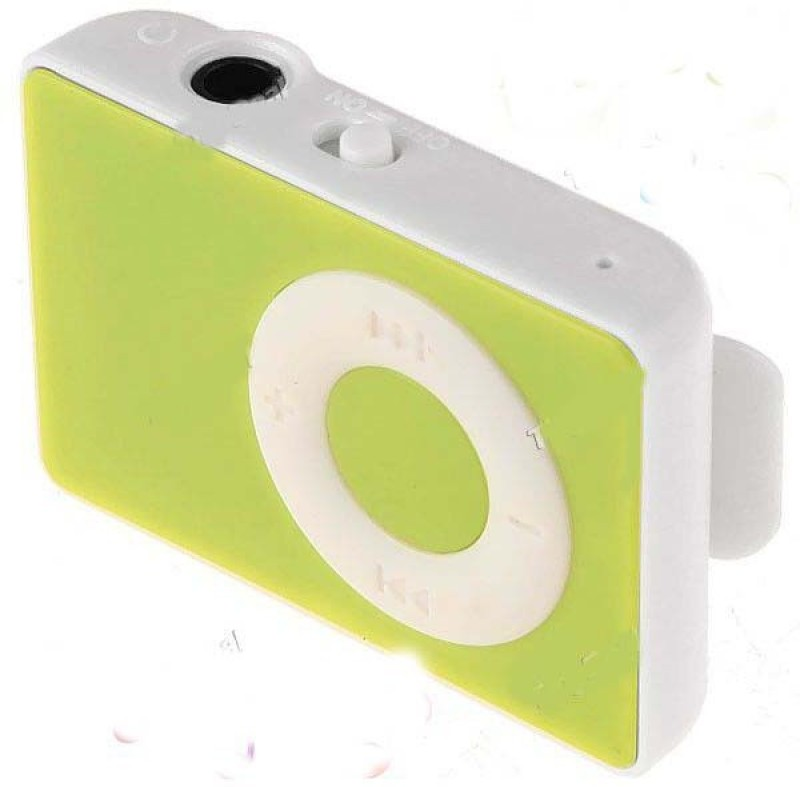 Jme Mini i Pod with Earphone & charging Cable MP3 Player(Green, 0 Display)