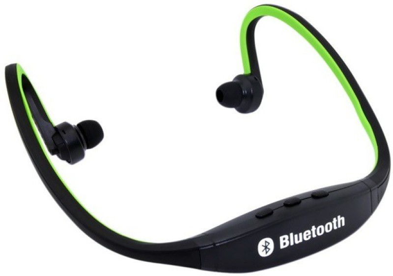 BB4 UNIVERSAL SPORTS STYLE BEHIND THE NECK BLUETOOTH Wireless MP3 Player(Green, 0 Display)
