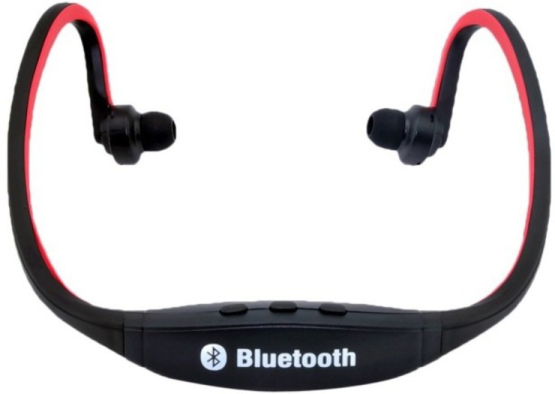 BB4 UNIVERSAL SPORTS STYLE BEHIND THE NECK BLUETOOTH Wireless MP3 Player(Red, 0 Display)