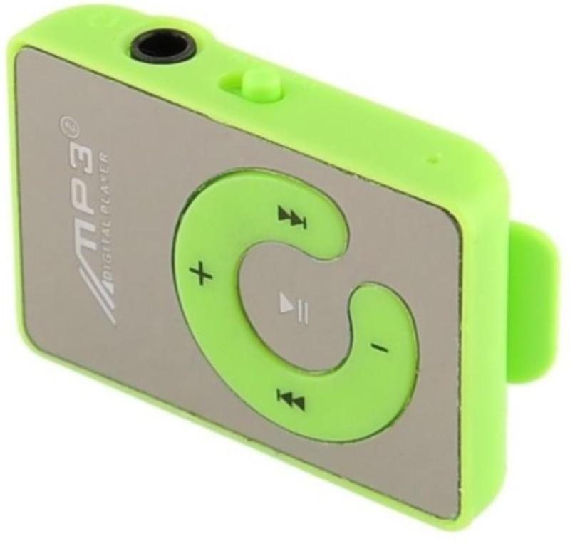 Mitaki Premium Design HQ Shiny Design MP3 Player(Shiny Green, 0 Display)