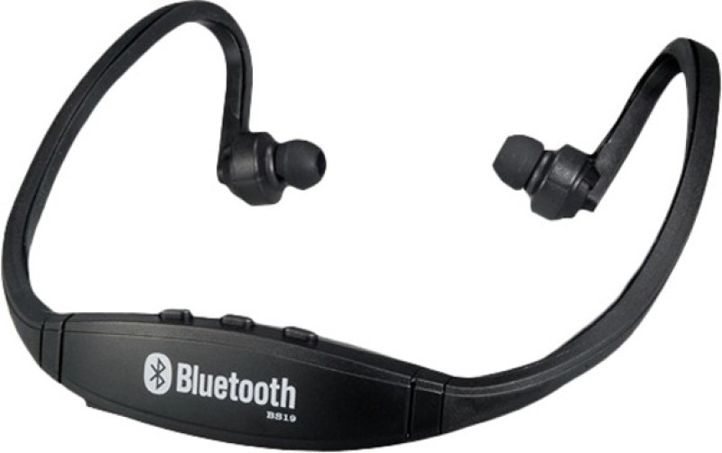 BB4 UNIVERSAL SPORTS STYLE BEHIND THE NECK BLUETOOTH Wireless MP3 Player(Black, 0 Display)
