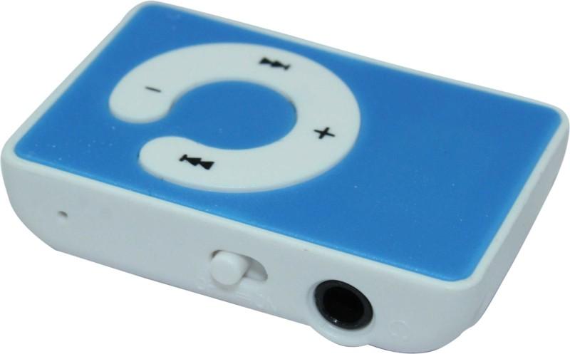 PH Artistic C Design Mini MP3 Player with 4GB Card CW4 002 16 GB MP3 Player(Blue, 0 Display)