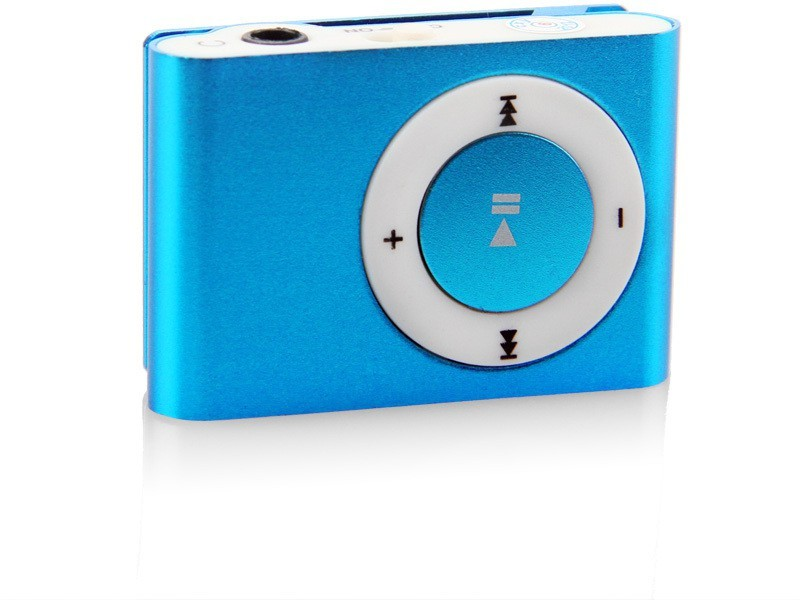 Mezire F SERIES-003 8 GB MP3 Player(Blue, 0 Display)