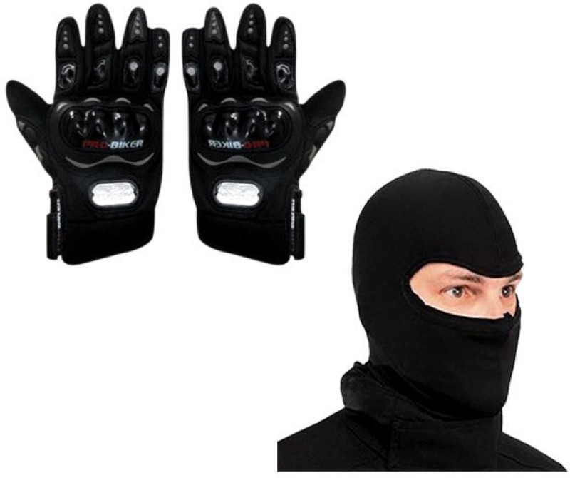 Probiker Bike Riding Gloves Driving Gloves (XL, Black)
