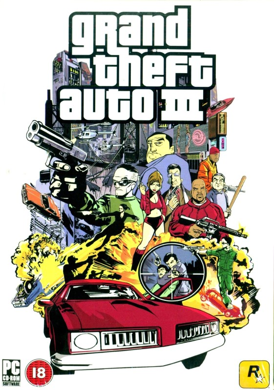 Grand Theft Auto III(for PC)