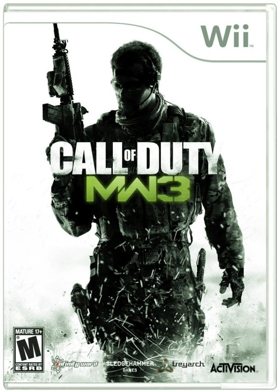 Call Of Duty : Modern Warfare 3(for Wii)