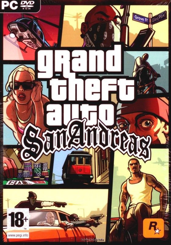 Grand Theft Auto : San Andreas(for PC)