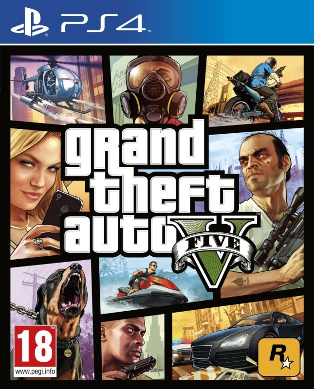 Grand Theft Auto V(for PS4)