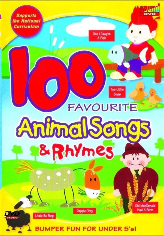 100 Favourite Animal Songs & Rhymes(DVD English)