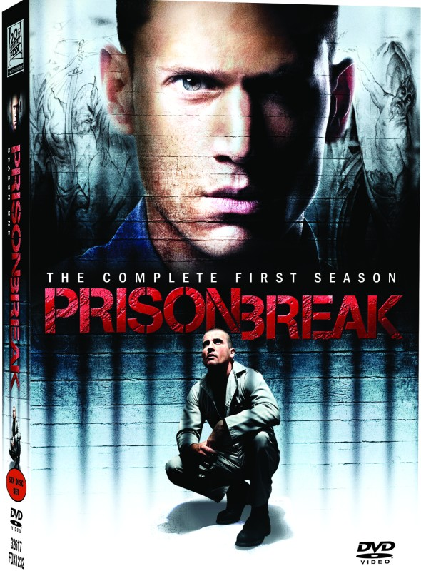 Prison Break: The Complete (6-Disc Box Set) Season 1(DVD English)