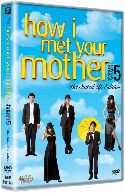 How I Met Your Mother: The Complete - The Suited Up Edition Season 5(DVD English)