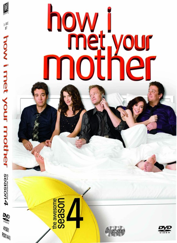How I Met Your Mother: The Complete Season 4(DVD English)