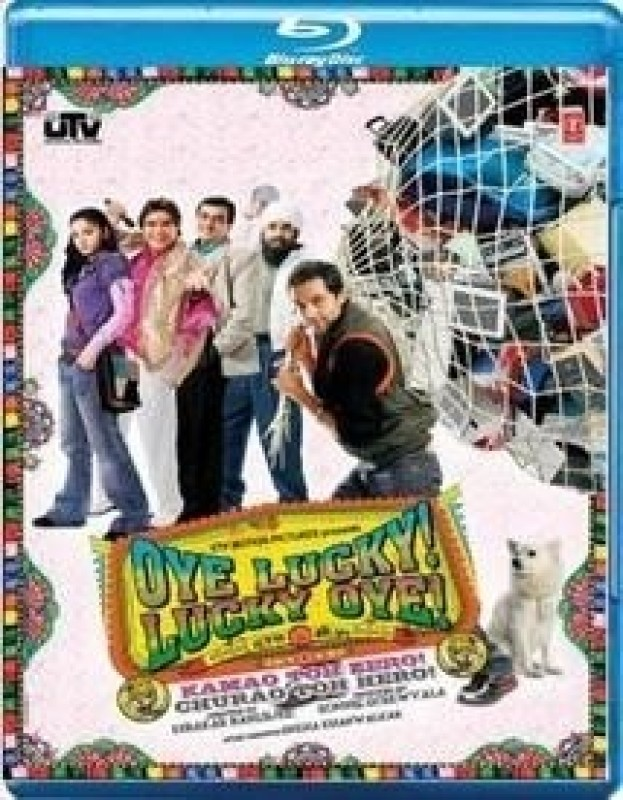 Oye Lucky! Lucky Oye!(Blu-ray Hindi)