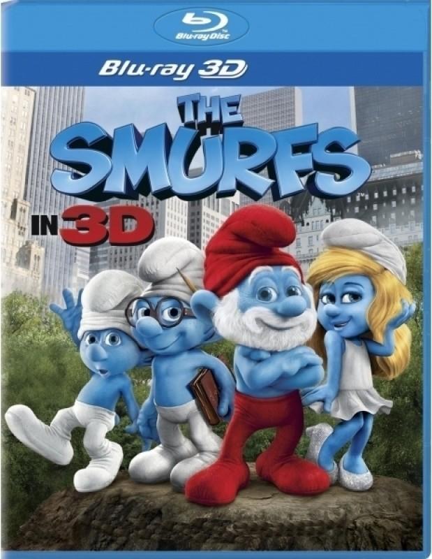 The Smurfs 3D(3D Blu-ray English)
