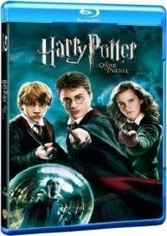 Harry Potter & The Order Of The Phoenix(Blu-ray English)