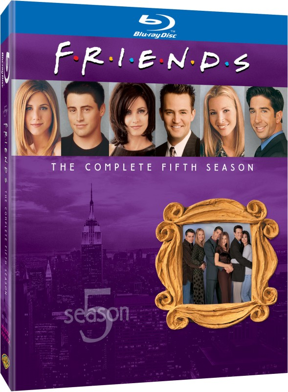 Friends Season - 5 5(Blu-ray English)