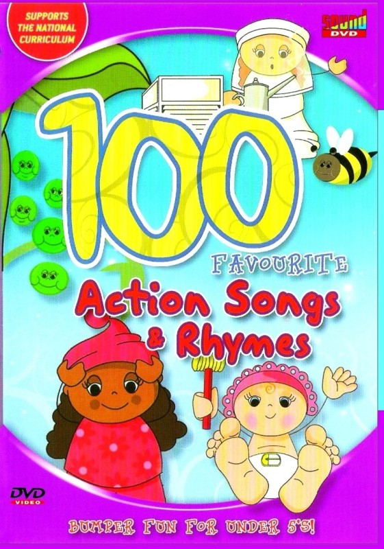 100 Favourite Action Songs & Rhymes(DVD English)