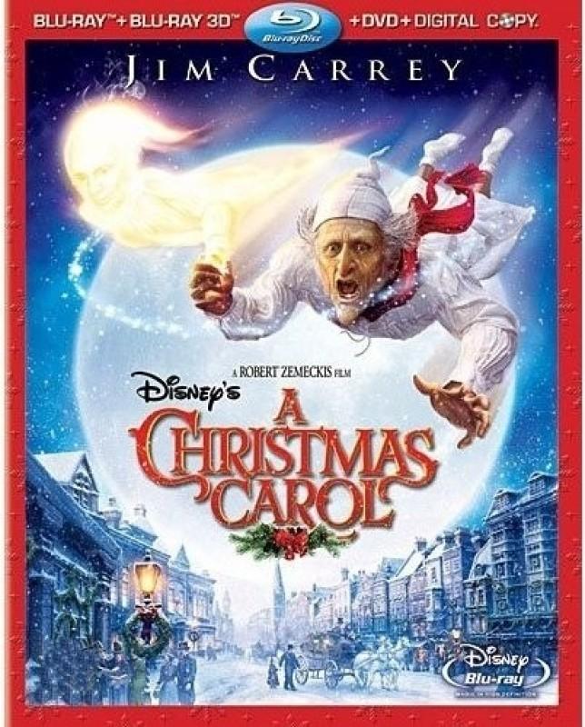 A Christmas Carol 3D(3D Blu-ray English)