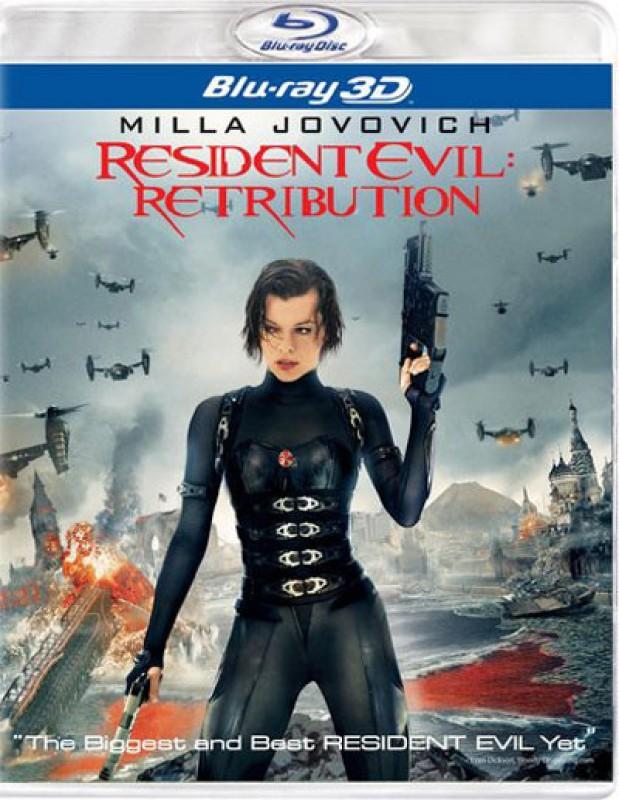 Resident Evil: Retribution 3D(3D Blu-ray English)