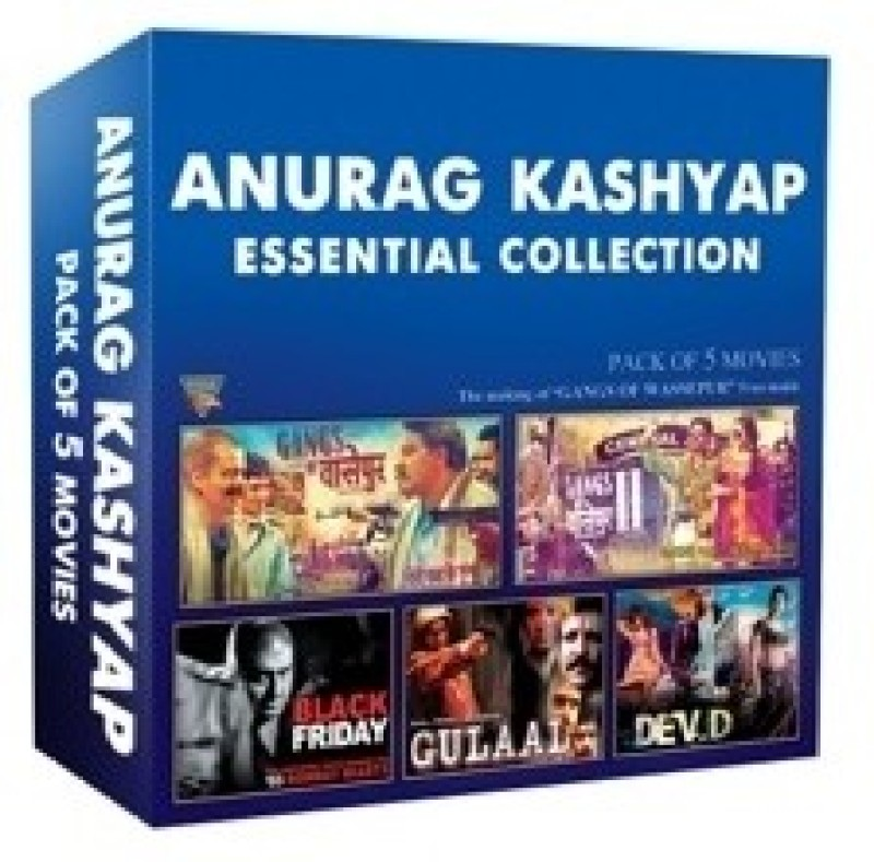 Anurag Kashyap Essential Collection (Set of 5 DVD's)(Hindi)