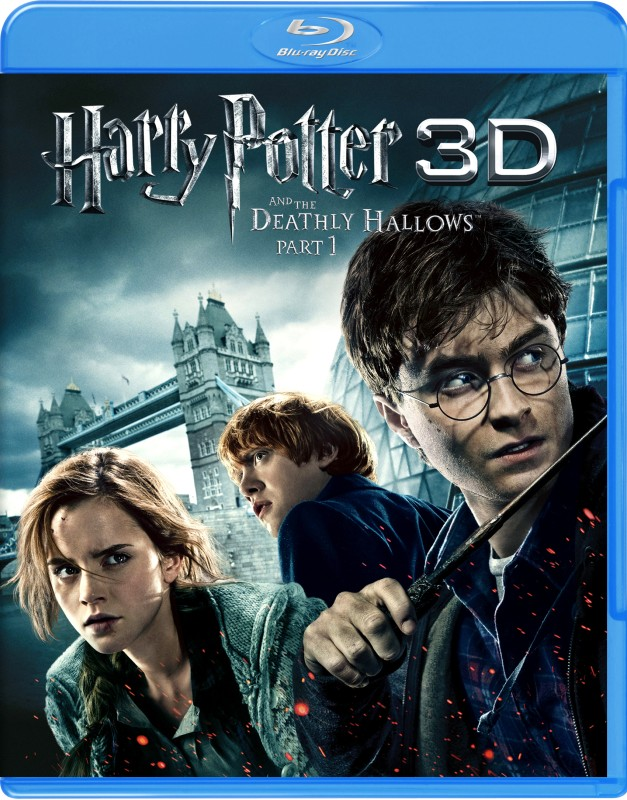 Harry Potter And The Deathly Hallows - Part 1 3D(3D Blu-ray English)