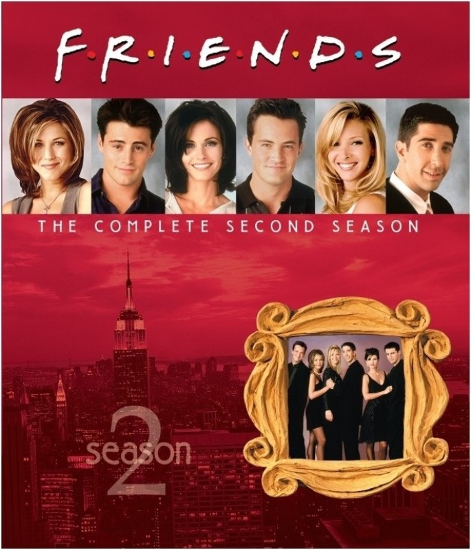 Friends Season - 2 2(Blu-ray English)