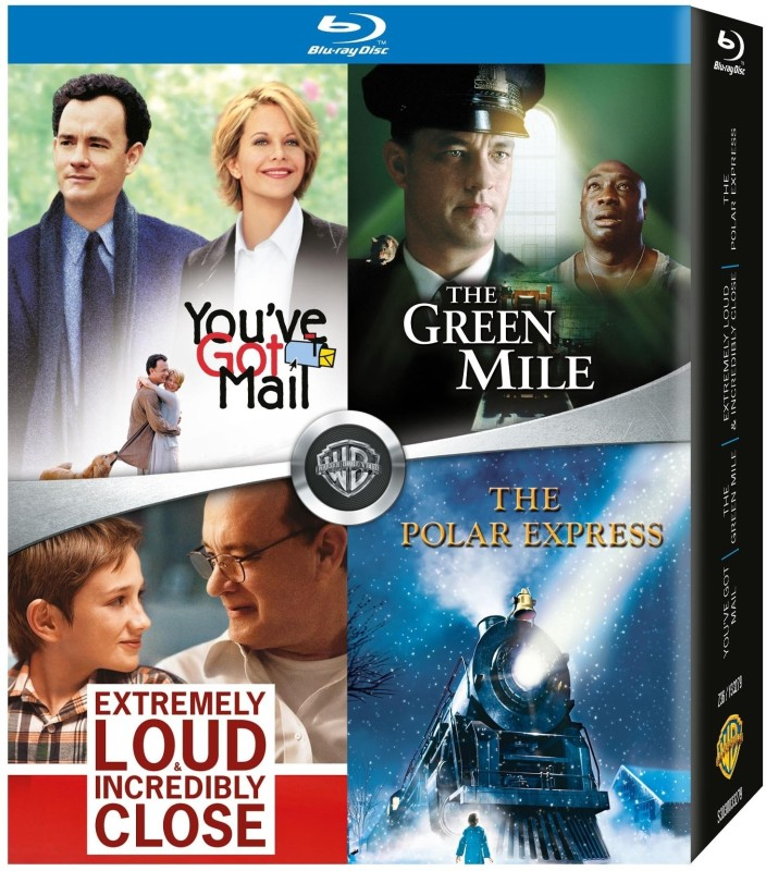 You've Got Mail / The Green Mile / Extremely Loud & Incredibly Close / The Polar Express(Blu-ray English)