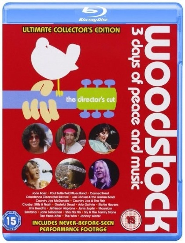 Woodstock Complete(Blu-ray English)