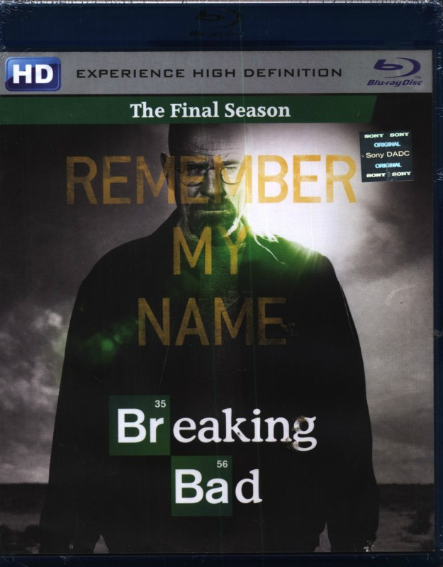 Breaking Bad Final Complete(Blu-ray English)
