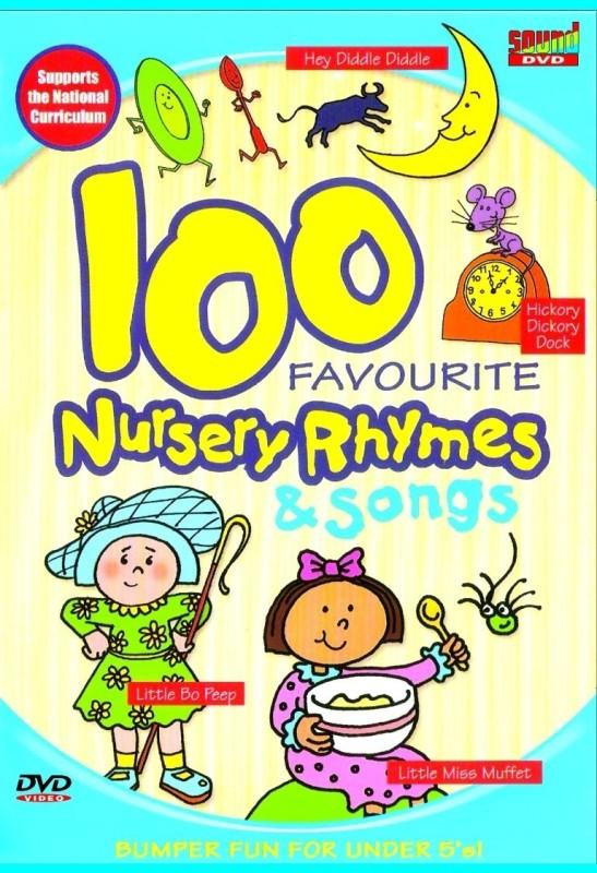 100 Favourite Nursery Rhymes & Songs(English)