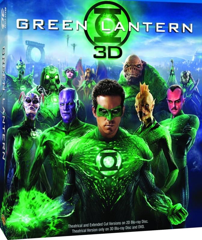 Green Lantern (3D Blu-Ray + Bluray)(3D Blu-ray English)