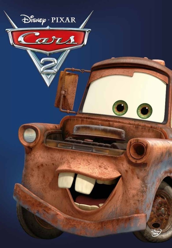 Cars 2(DVD English)