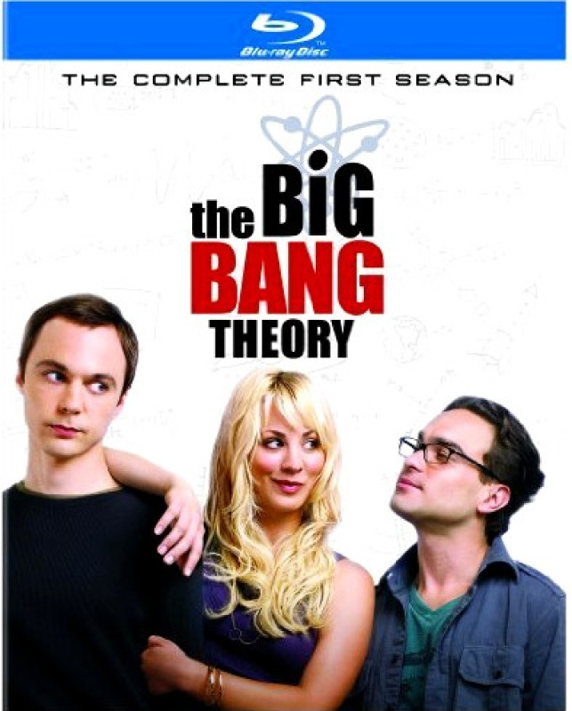 The Big Bang Theory 1(Blu-ray English)