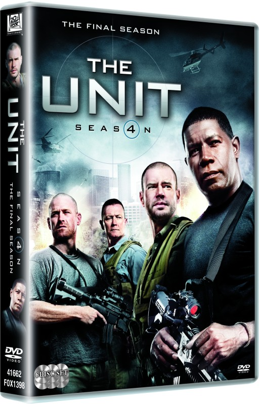The Unit: The Final (6-Disc Box Set)Season 4(DVD English)