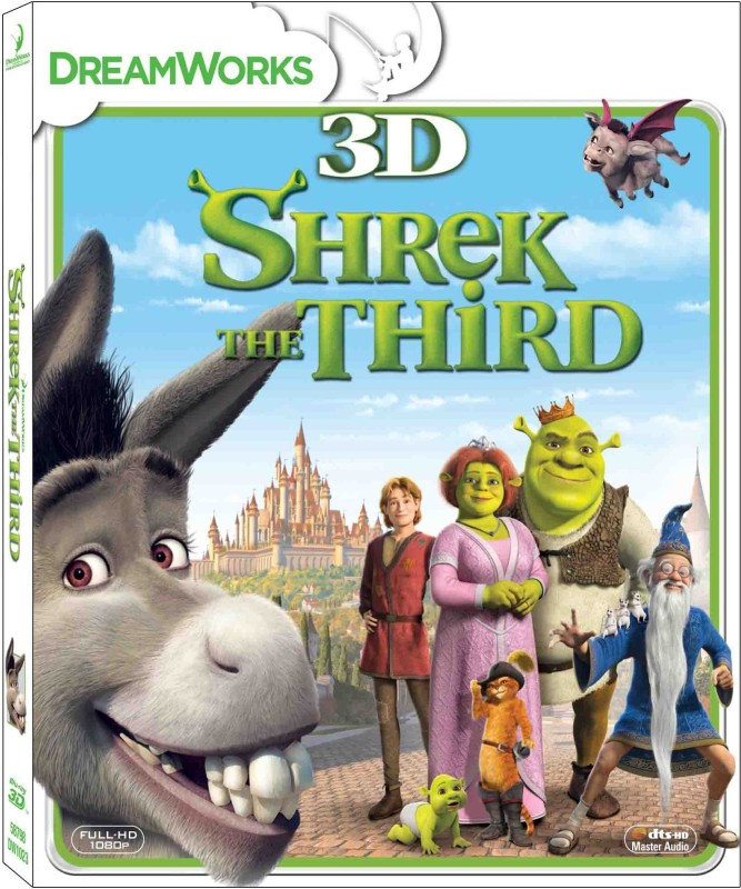 Shrek The Third(3D Blu-ray English)