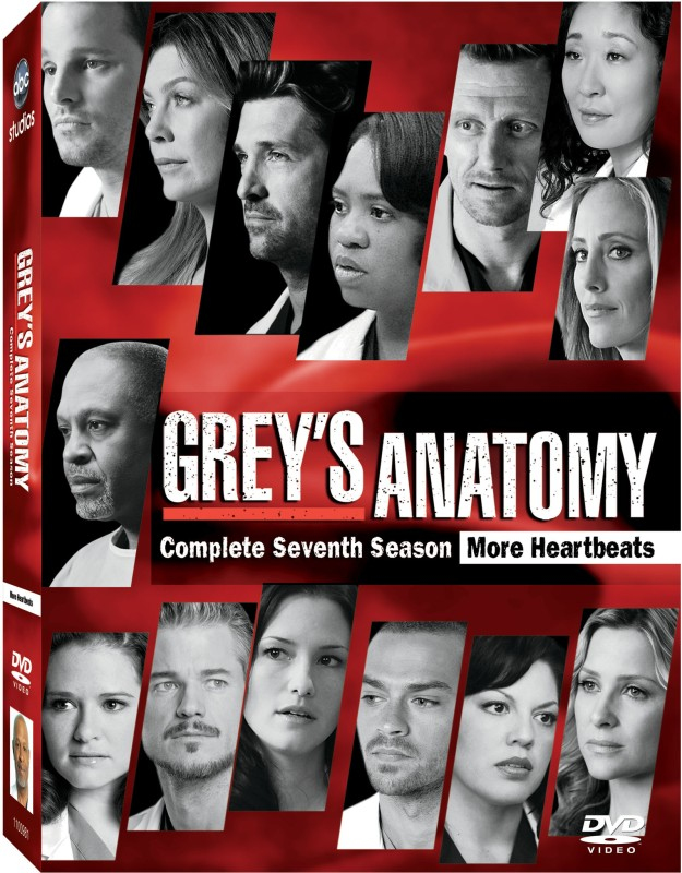 Grey's Anatomy Season - 7 7(DVD English)