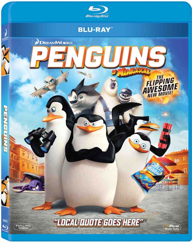 Penguins Of Madagascar(Blu-ray English)