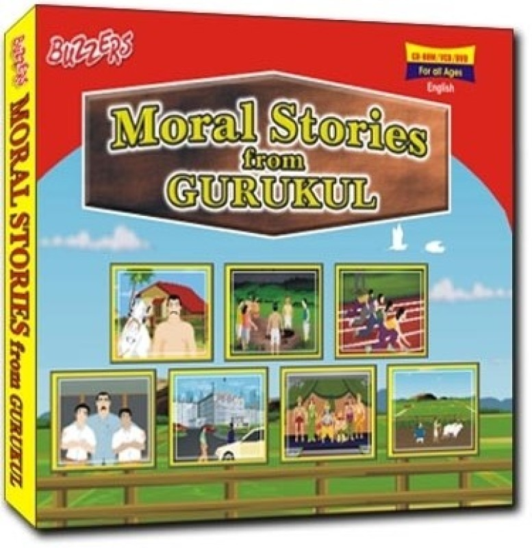 Buzzers Moral Stories From Gurukul(VCD English)