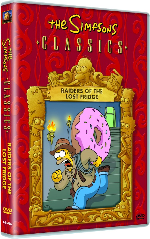 The Simpsons Classics Raiders Of The Lost Fridge, Complete(DVD English)