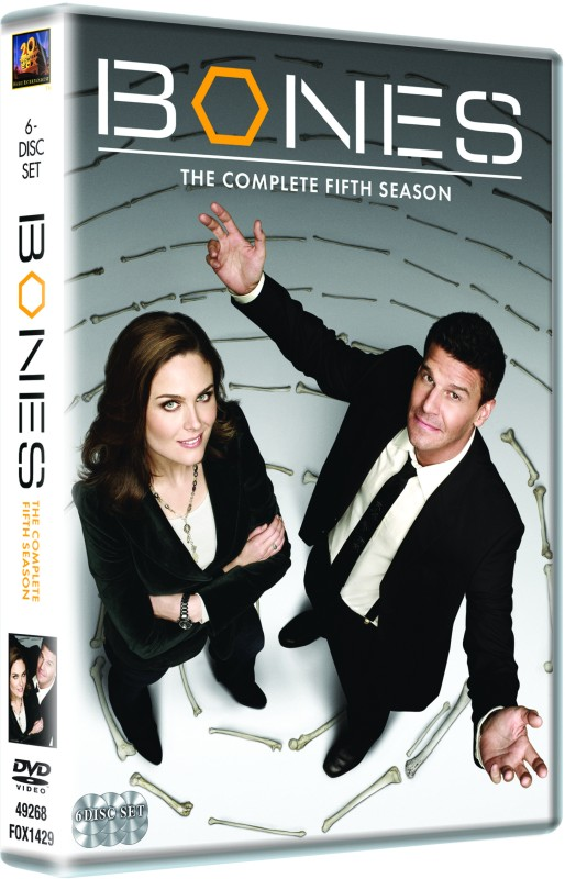 Bones: The Complete (6-Disc Box Set)Season 5(DVD English)