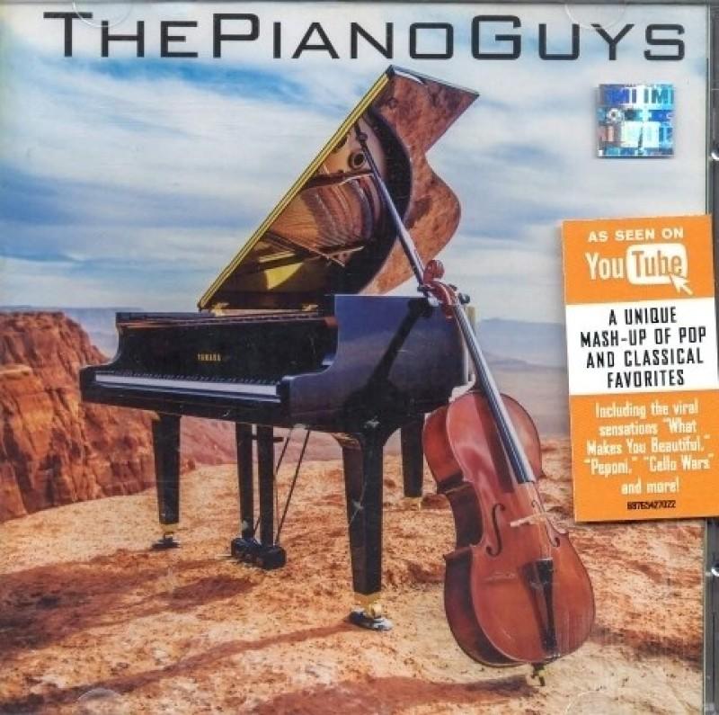 The Piano Guys Audio CD Standard Edition(English - THE PIANO GUYS)