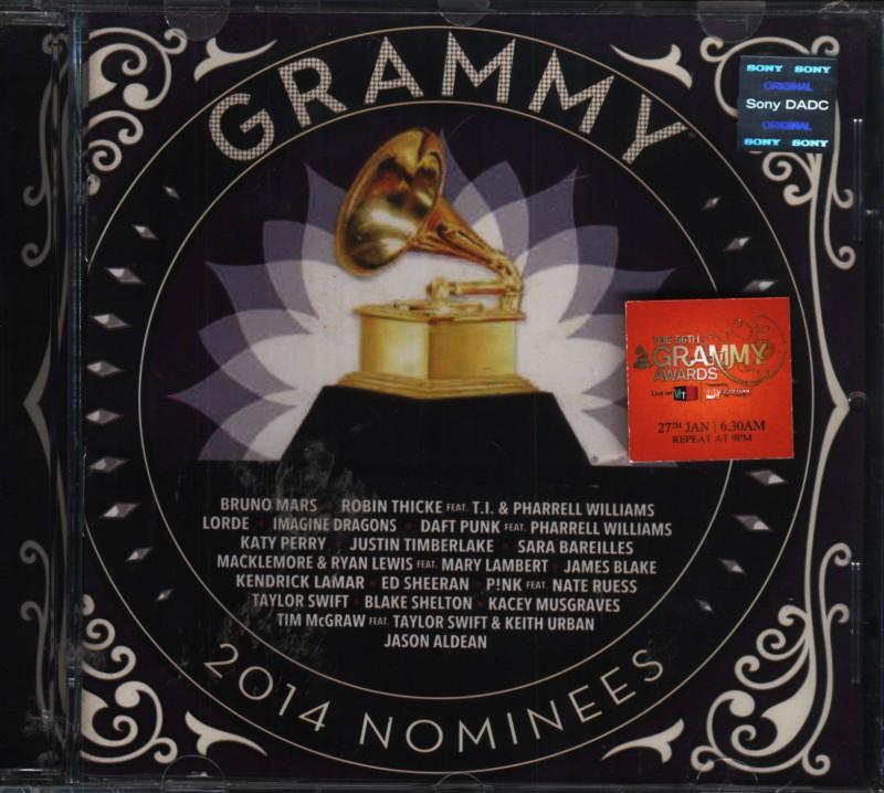 2014 Grammy Nominees Audio CD Standard Edition(English - VARIOUS)