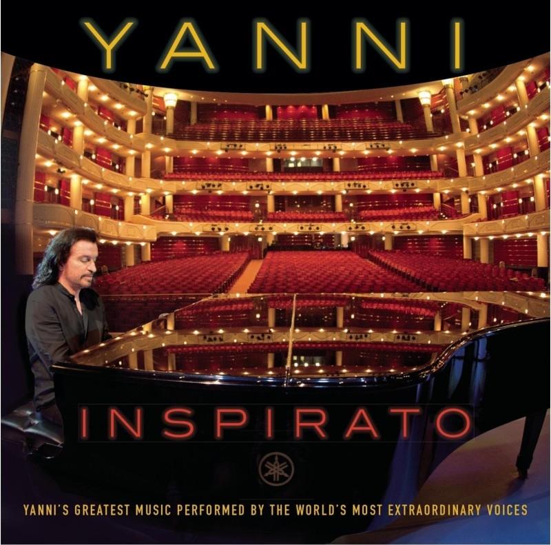 Inspirato Audio CD Standard Edition(English - YANNI)