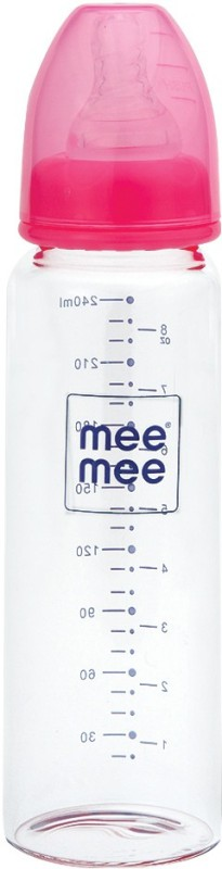 MeeMee PREMIUM FEEDING BOTTLE� - 240 ml(Pink)