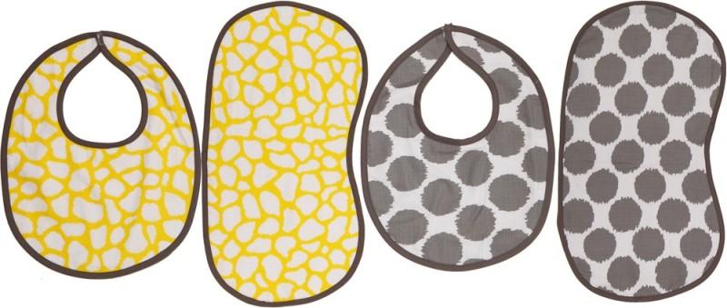 Bacati Bibs/Burpies(Yellow)