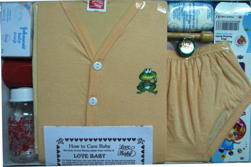 Love Baby Care Combo(Peach)