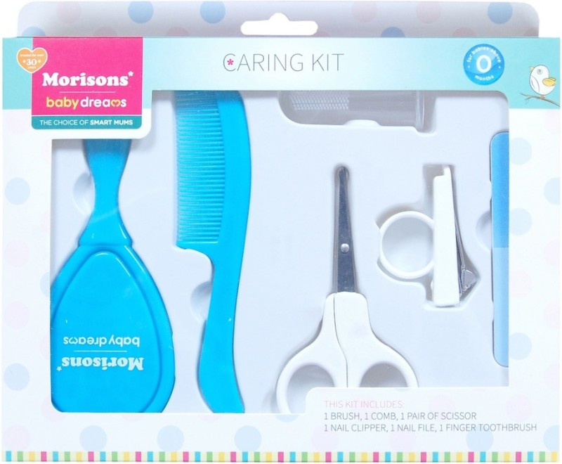 Morisons Baby Dreams Caring kit (Grooming Set)(Blue)