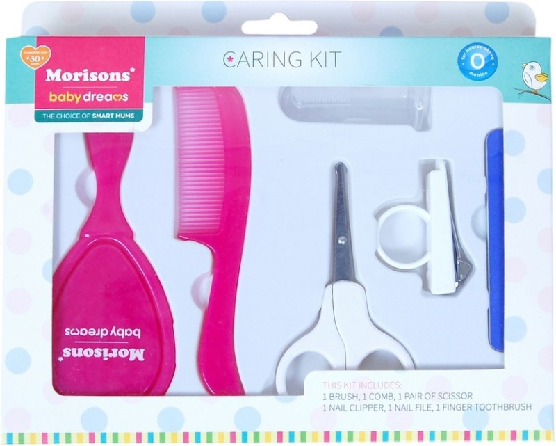 Morisons Baby Dreams Caring kit (Grooming Set)(Pink)
